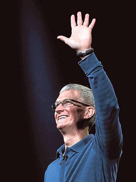 Applen toimitusjohtaja Tim Cook riemuitsi osavuosikatsauksessa liikevaihdon ennätyksestä, joka ei silti tyydyttänyt sijoittajia. Yhtiön osake heikkeni jälkimarkkinoilla selvästi.