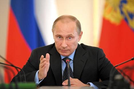 Hollantilaiset ovat tuohtuneet Venäjän presidentti Vladimir Putiniin.
