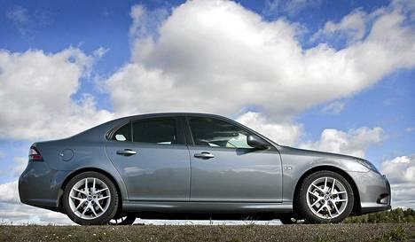 Saab-brändin omistava NEVS aikoo myydä toisen sukupolven 9-3-Saab-mallin oikeudet Turkin tieteen ja teknologian tutkimusneuvostolle. Kuvassa Saab 9-3 vuodelta 2007.