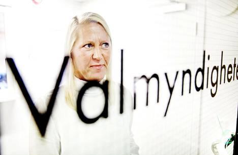 Anna Nyqvist on Ruotsin vaaliviranomaisen Valmyndighetenin kansliapäällikkö.