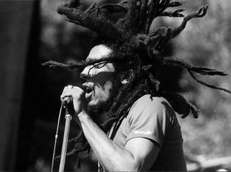 Bob Marley vuonna 1980.
