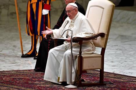 Paavi Franciscus.