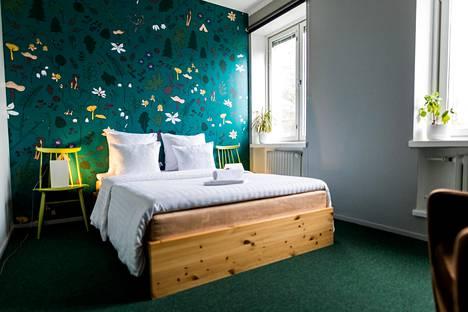 Myö Hostellissa on 19 uniikkia huonetta.