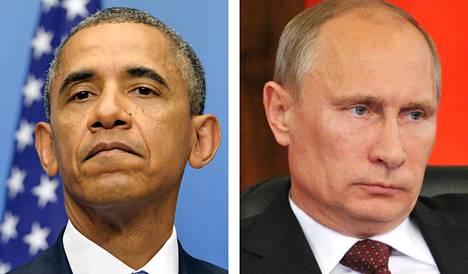 Barack Obama ja Vladimir Putin