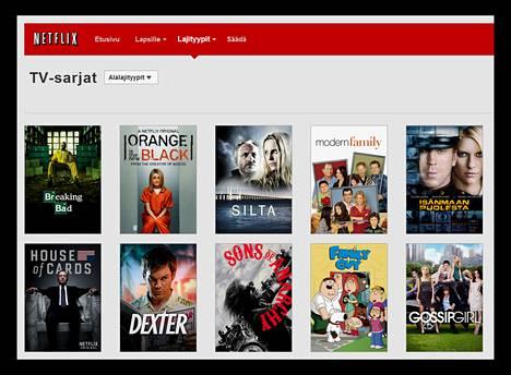 Tilausvideopalvelu Netflix aloitti toimintansa Suomessa viime vuoden lokakuussa.