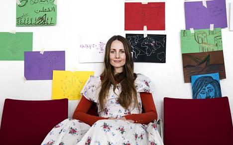 Tanskalaisimaami Sherin Khankan on feministiaktivisti, joka tekee töitä islamin uudistamiseksi.