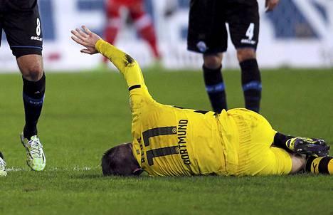 Marco Reus on sivussa loppuvuoden.
