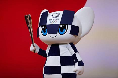 Tokion olympialaisten maskotti on nimeltään Miraitowa.