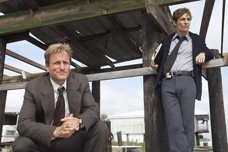 Synkän rikossarjan ensimmäistä kautta tähdittivät Woody Harrelson ja Matthew McConaughey.