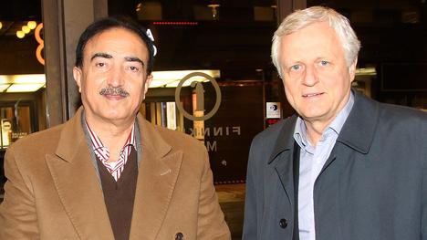 Irakilainen entinen kenraali Saad al-Obaidi ja liikemies Peter Fryckman ovat tunteneet toisensa jo pitkään. Vuonna 2014 he osallistuivat yhdessä Nelson Mandelan elämää käsittelevän elokuvan ensi-iltaan Helsingissä.