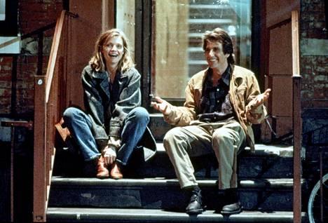 Michelle Pfeiffer ja Al Pacino näyttelivät Terrence McNallyn käsikirjoittamassa Frankie & Johnny -elokuvassa vuonna 1991.