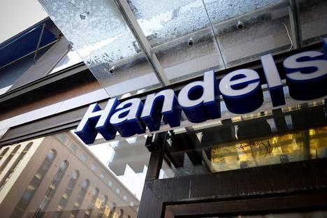 Handelsbankenin konttori Helsingissä.