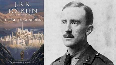 J.R.R. Tolkien 24-vuotiaana vänrikkinä vuonna 1916. Elokuussa ilmestyvän kirjan on kuvittanut Alan Lee.