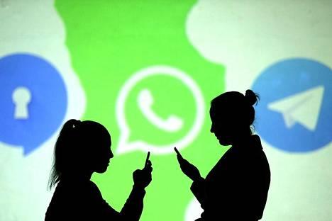 Whatsappin ikäraja on tällä hetkellä 13 vuotta.