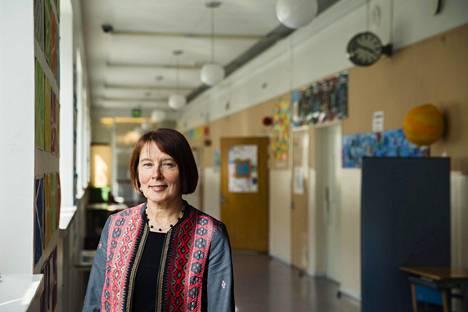 Kasvatuksen ja koulutuksen toimialajohtaja Liisa Pohjolainen.