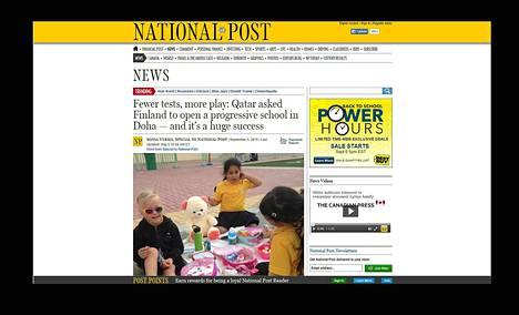 Ruutukaappaus National Postin sivuilta