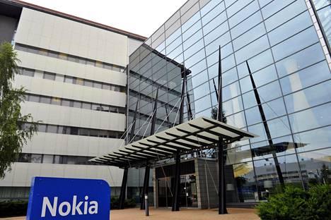 Verkkoyhtiö Nokian pääkonttori Espoossa elokuussa 2016.