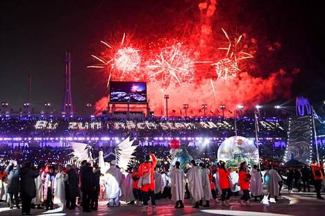 Pyeongchangin olympialaiset päättyivät sunnuntaina 25. helmikuuta.