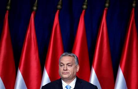 Unkarin pääministeri Viktor Orbán piti vuosittaisen Kansakunnan tila -puheen sunnuntaina.