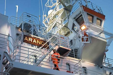 Merentutkimusalus Arandalla on tärkeä tehtävä Itämerellä tapahtuvassa tutkimustyössä.