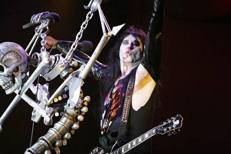 Amerikkalainen hard rock -yhtye W. A. S. P konsertoi Helsingin Kulttuuritalolla 24. syyskuuta 2006. Kuvassa laulaja Blackie Lawless.