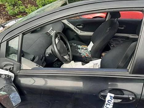 Varastettu Toyota Yaris löytyi Mikkelistä romutuskunnossa keskiviikkona.