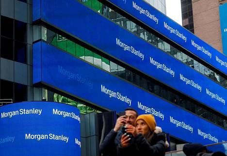 Morgan Stanleyn toimitila New Yorkissa.