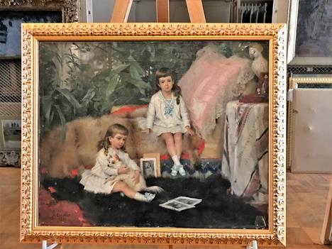 Albert Edelfeltin maalaus Suurruhtinaat Kirill ja Boris lapsina kuuluu Rybinskin taidemuseon kokoelmiin.