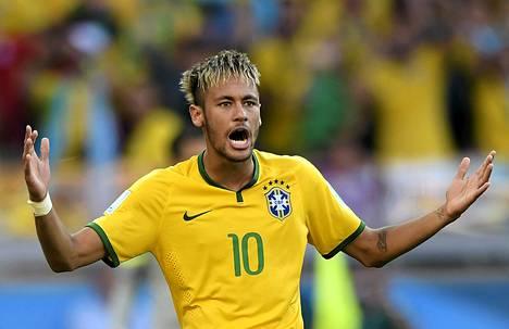 Neymar on brasilialaisten ykkössuosikki MM-kisoissa.