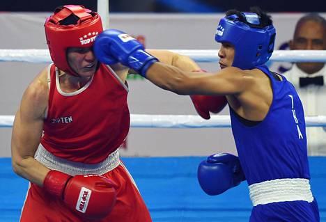 Mira Potkosen MM-turnaus päättyi Thaimaan Sudaporn Seesondeen käsittelyssä.