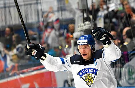 Jussi Jokinen on Leijonien kapteeni.