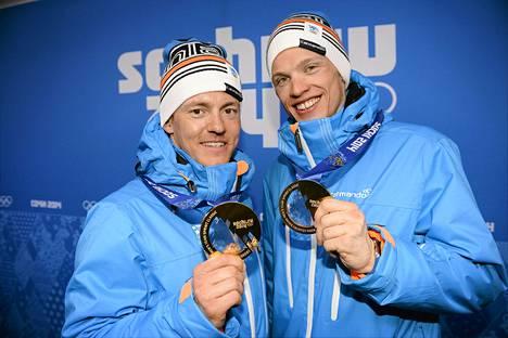 Sami Jauhojärvi ja Iivo Niskanen ovat poissa Salpausselältä.
