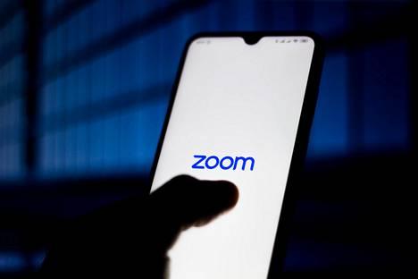 Zoomin logo näyttää sovelluksessa tältä.