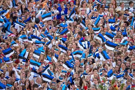Edellisen kerran Tallinnan laulujuhlat järjestettiin vuonna 2014, silloinkin isänmaallisissa merkeissä.