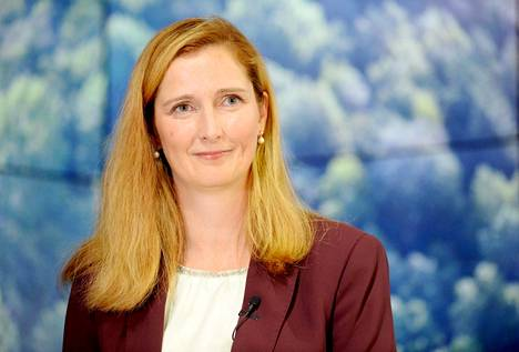 Stora Enson uudeksi toimitusjohtajaksi nimitetty Annica Bresky.