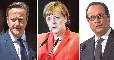 Britannian David Cameron haluaa vahvan euroalueen Britannian oman edun nimissä. Saksan Angela Merkel taas haluaa vahvistaa Emua muttei ole kertonut yksityiskohdista. Ranskan François Hollande haluaa euroalueelle oman hallituksen, budjetin ja parlamentin.