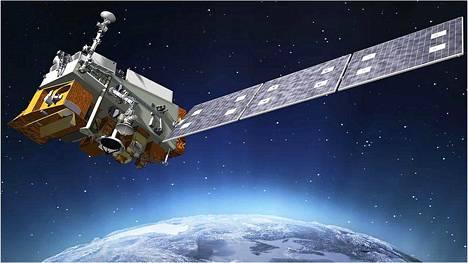 Sääsatelliitti Noaa-20 havaitsi huikean kylmyyden Tyynellämerellä kieppuvan myrskyn yläkerroksissa.