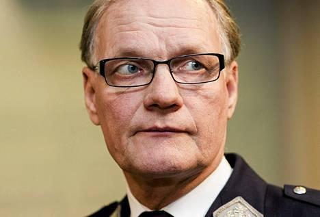 Poliisiylijohtaja Mikko Paatero kertoi perjantaina rekisterisotkusta hallintovaliokunnalle.
