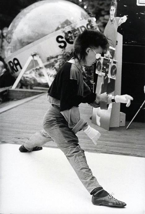Breakdancen SM-kilpailut syyskuussa 1984.