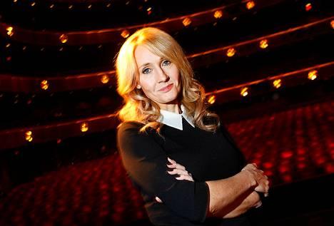 Kirjailija J.K.Rowling.