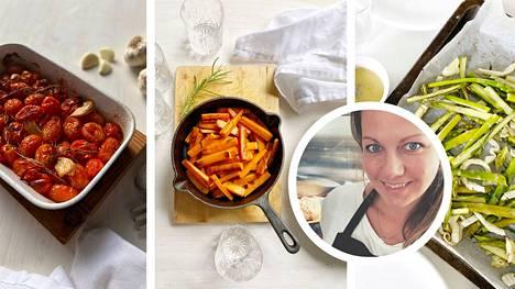 Ruokakirjailija Eeva-Maria Lisko kertoo, mitkä ovat hänen kasviksista tehtyjä suosikkilisukereseptejään.