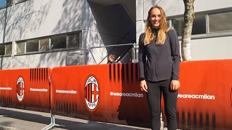 Nora Heroum jatkaa uraansa Milanossa.