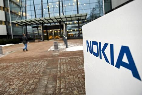 Nokian pääkonttori Espoossa tammikuussa.