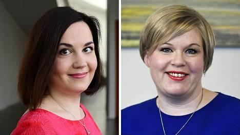 Sanni Grahn-Laasonen ja Annika Saarikko.