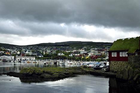 Färsaarten pääkaupunki Tórshavn.