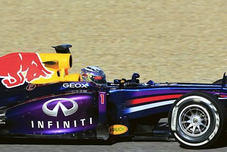Sebastian Vettel Nälkäisen Heidinsä kanssa