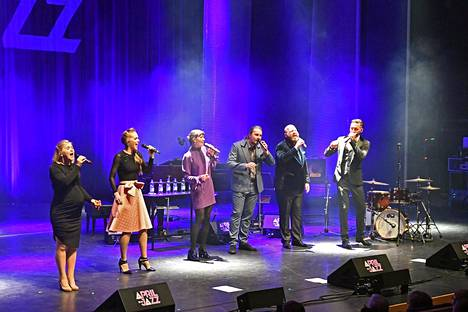 Estonian Voices esiintyi April Jazzissa.