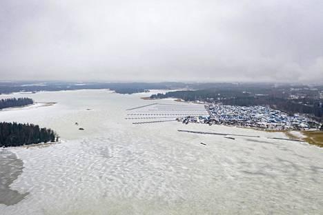 Finnoon satama-alue Espoossa.