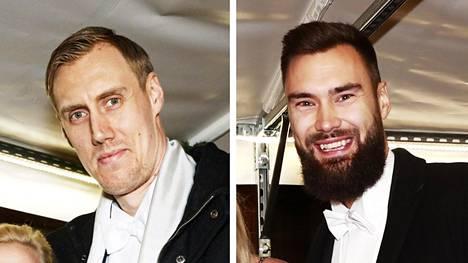 Marko Anttila ja Tim Sparv.