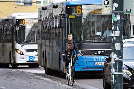 Kaupunkisuunnitteluvirasto ehdottaa, että Hämeentie suljettaisiin läpiajavilta autoilta.